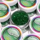 Glitters Lime. RD Sparkles Decorativi Jewel Lush Lime. Rainbow Dust