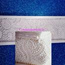 Gran Bordo di Perle Gigante 37 x 12 cm in silicone