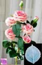 Grande Foglia Rosa di 11 cm. Stampo in silicone