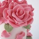 Gum Paste Rosa per Fiori Decorina