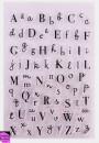 Lettere Alfabeto Corsivo a Timbro trasferibili da dipingere