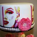 Marilyn Monroe. Grande Stencil di 43 cm.
