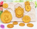 Monete antiche Sesterzi Romani e Dobloni. Grande Fantastico Stampo in silicone