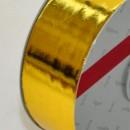 Oro Metallizzato. Nastro lucido per decorazione.