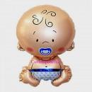 Palloncino gigante in Mylar a forma di Bambino !!