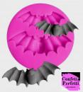 Pipistrello. Stampo Halloween con 2 forme