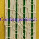 Rombo Esagono Cerchi e Quadrati. Set di 4 tagliapasta Geometrici in plastica.