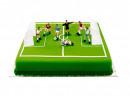 Set Calcio di 7 Calciatori con 2 Porte e Arbitro. Decora