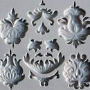 Stampo Barocco con Decorazioni Varie