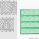 Tappetino in silicone per decoro Linea Magic Decor TMD03 Pavoni.