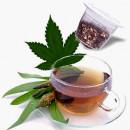 Tisana alla Cannabis. Nespresso DolceVita. 10 Capsule
