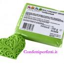 Verde Chiaro Pasta di zucchero FunCakes senza glutine