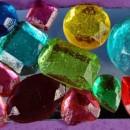 Diamanti Decorati. Stampo in silicone.