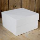 32 x 32 x 32 cm. Scatola Trasporta Torta Dolci Alimentare Bianca