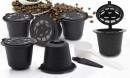 6 Capsule Nespresso Riutilizzabili + un cucchiaino e una spazzola