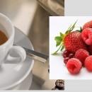 Caffè aromatizzato ai FRUTTI ROSSI. Disponibile in Grani e Macinato.