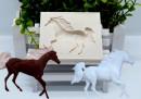 Cavallo. Stampo in silicone