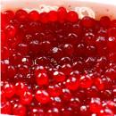 CHELLIES Rosse.Perle in gel per decorazione.