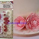 Cutter stampo per realizzare fantastica Peonia molto facilmente!! FMM The Easiest Peony Ever Set/3PZ