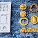 Diademi Specchi e Cornici. Stampo in silicone