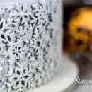 Stampo silicone Fiocchi di neve Karen Davies