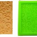 Floreale decorativo. Stampo decorativo a Fiori in silicone.