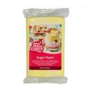 Giallo Pastello. Pasta di zucchero FunCakes. 250 gr. Mellow Yellow. Kosher e senza Glutine