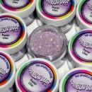 Glitters Lilla Pastello. RD Sparkles Decorativi Pastel Lilac. Rainbow Dust
