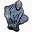Grande Stampo Tortiera in metallo Spiderman Uomo Ragno 3D.