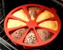 Grande Tortiera con 10 fette e spicchi