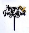 Happy Graduation + Pergamena. Laurea. Cake Topper