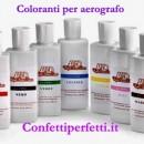 Marrone 250 ml. Colorante a base acqua per Aerografo. WFD