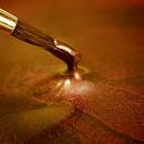 Oro Scuro Metallizzato. Colorante in gel. Rainbow Dust