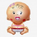 Palloncino gigante in Mylar a forma di Bambina !!
