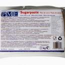 Pasta di zucchero Bianca PMEper ricopertura e modelling. 1 Kg. Certificata Kosher.