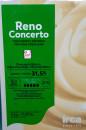 Reno Concerto. Cioccolato Bianco 31,5%. Qualità Superiore.Irca