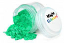 Verde con effetti Metallici molto Luminosi e Scintillanti. Colorante Lipo in polvere. Sparkle Lustre Magic Colour