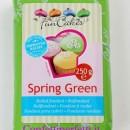 Verde Primavera. Spring Green. Pasta di zucchero FunCakes. 250 gr. Senza Glutine e Kosher