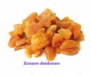 Zenzero disidratato senza zuccheri aggiunti