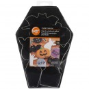 Zucca Ragno Pipistrello Fantasma Gatto Bara Lapide.Tagliapasta Halloween in metallo. Wilton