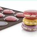 Macaron. 290 x 390 mm. Tappetino da forno in silicone.