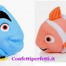 Set dei Pesciolini Dory e Nemo in pasta di zucchero. Modecor