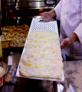 40 x 70 cm. Asse/Pala in Alluminio per Pizza al metro con Maniglia forata
