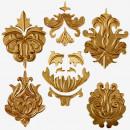 Barocco. Bellissime decorazioni. Stampo in silicone