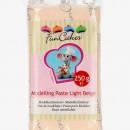 Beige Chiaro Pelle. Gum Paste per Modellare 250 gr. FunCakes