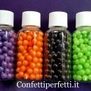 Bellissime Perle 6 mm tonde Perlescenti colorate di zucchero