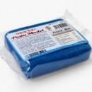 Blu Azzurro. Nuova Pasta di zucchero Model Gum Paste Saracino. Senza Glutine. Confezione da 250 gr.