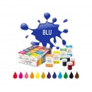 BLU. Nuovi Coloranti Alimentari in Gel. 28 gr. Decora.