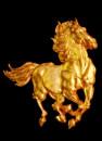 Cavallo al galoppo. Stampo in silicone