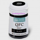 Colorante Lipo NERO in polvere QFC Quality Food Colour Dust Black 4 gr. Senza glutine. Squires Kitchen